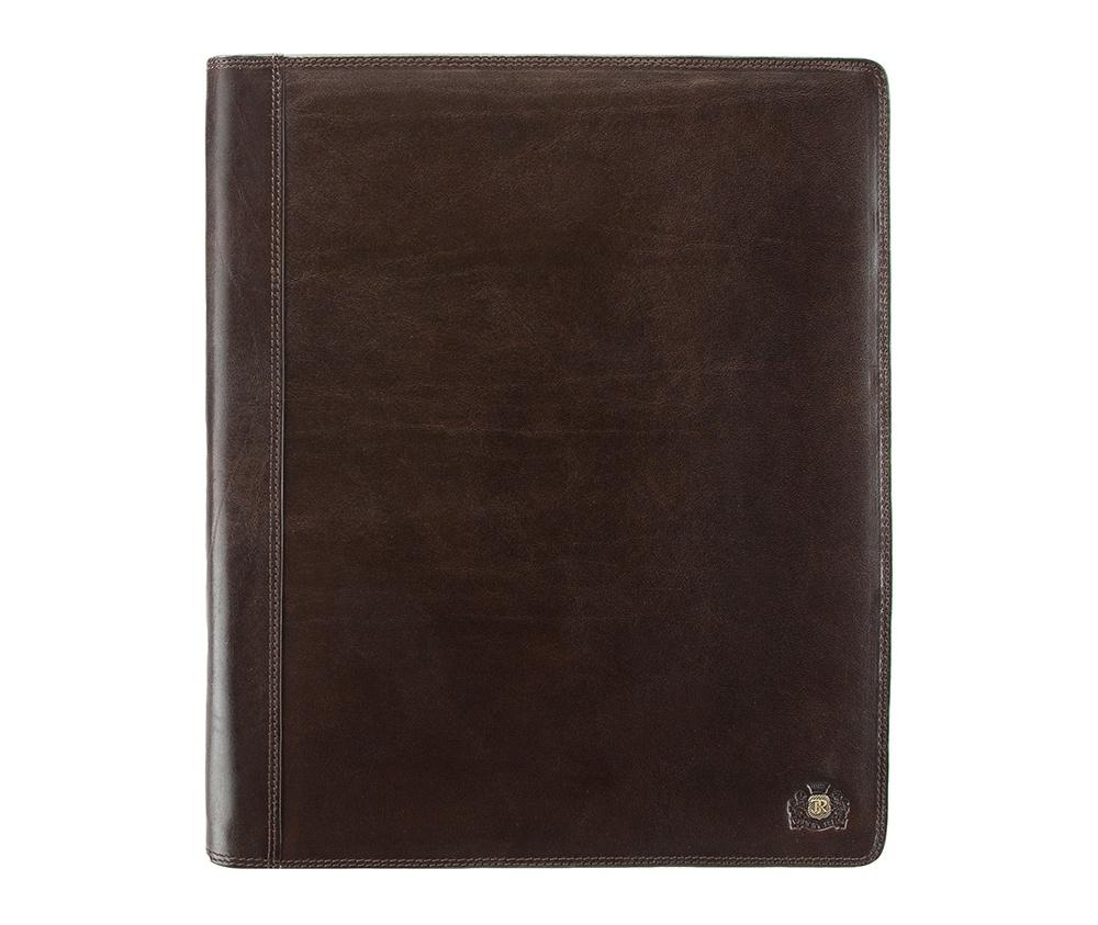 Деловая папкаДеловая папка из коллекции Da Vinci.&#13;<br>Особенности модели: отделение формата A-4, 2 отделения формата A-4, крепление для ручек, 7 отделений для кредитных карт, 3 кармана, в том числе один прозрачный.<br><br>секс: унисекс<br>Цвет: коричневый<br>материал:: натуральная кожа<br>высота (см):: 31.5<br>ширина (см):: 26<br>глубина (см):: 2