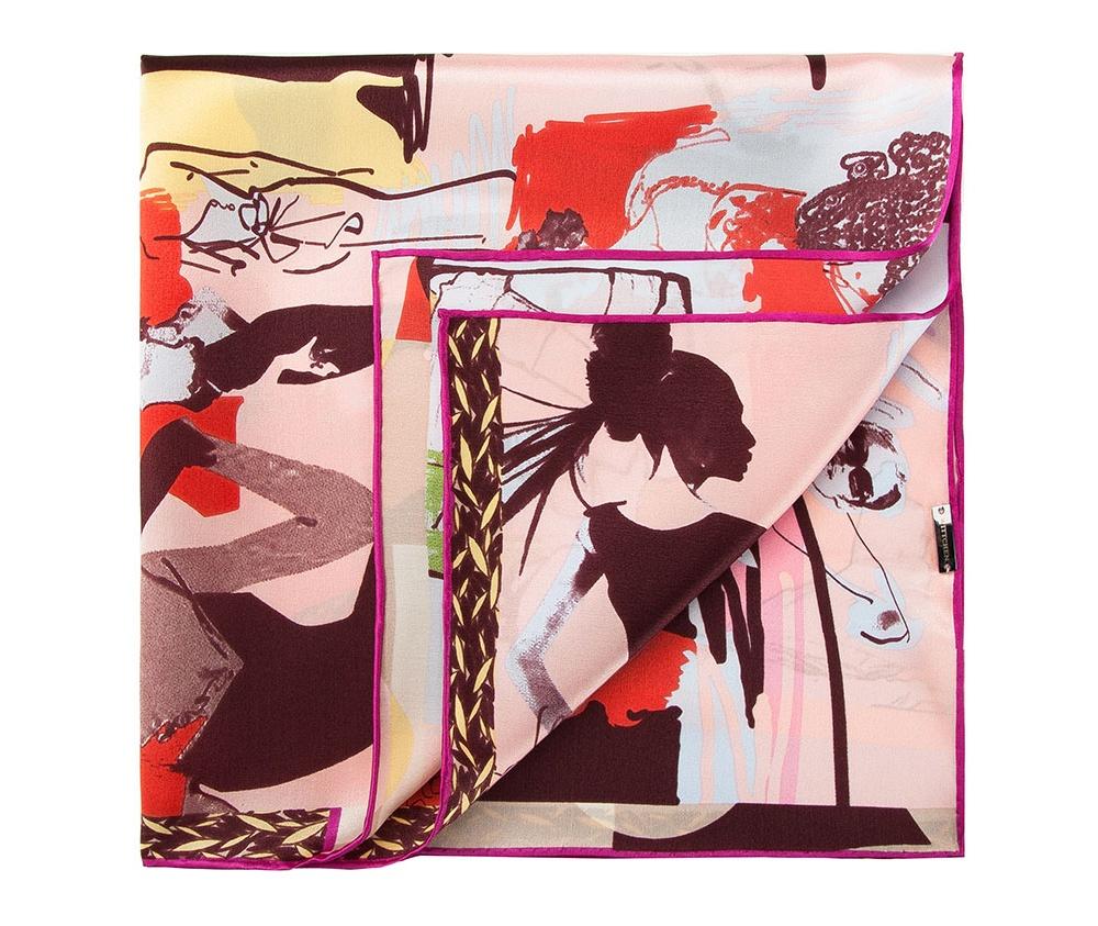 Платок женскийШелковый платок для женщин, сделан чрезвычайно трудоемкой техникой прокатки края. Имеет знак качества материала KING SILK. Яркий, модный, шелковый шарф к тому же очень приятный на ощупь. Такой шарф никогда не будет лишним в гардеробе и придаст образу совершенно новый вид. Он идеально подойдет для стильной леди.<br><br>секс: женщина<br>Цвет: разноцветный<br>материал:: Шелк