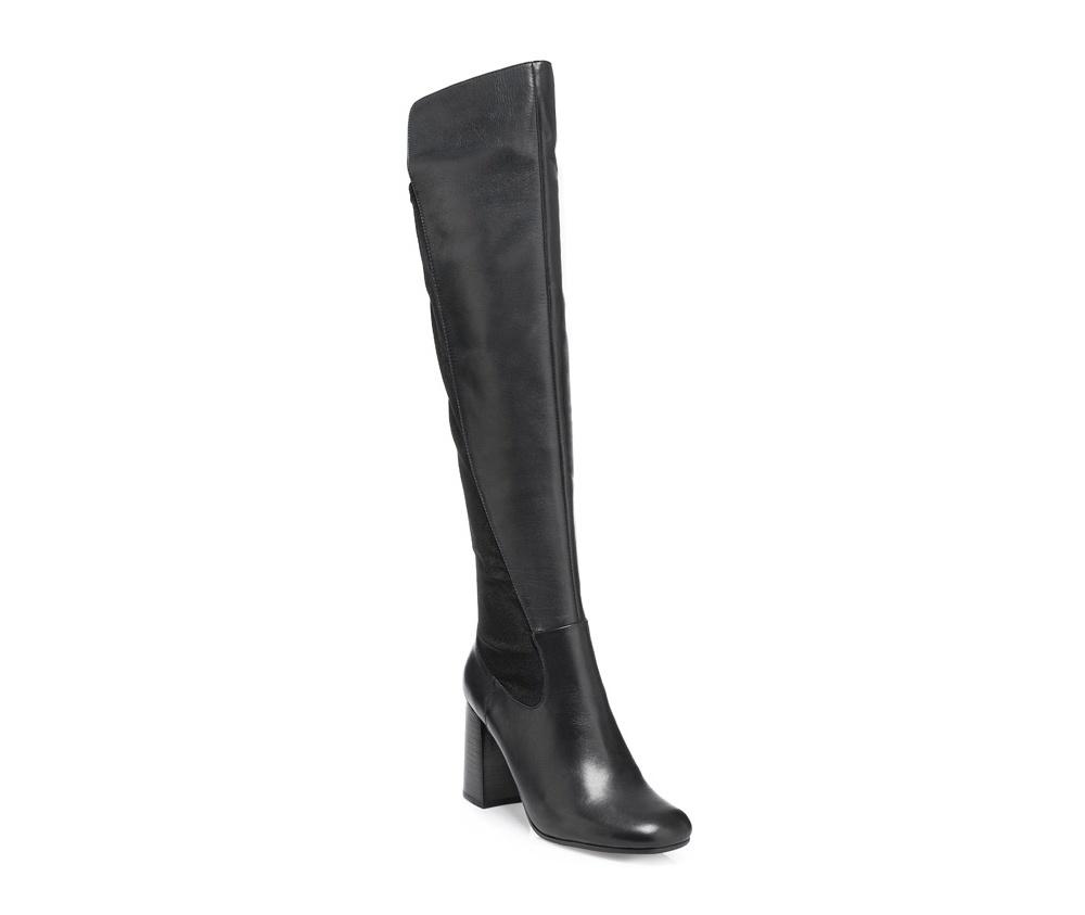 Обувь женскаяОбувь женская<br><br>секс: женщина<br>Цвет: черный<br>Размер EU: 36<br>материал:: Натуральная кожа<br>примерная высота каблука (см):: 8,5