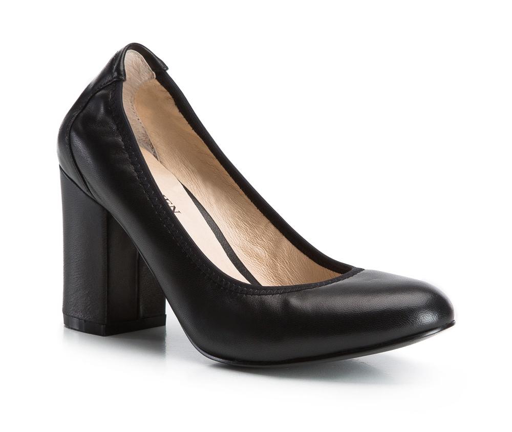 Обувь женскаяЖенские туфли-лодочки, выполнены по технологии Hand Made из натуральной итальянской кожи наивысшего качества. Подошва сделана из качественного синтетического материала. Это обязательный предмет женского  гардероба, который добавит Вам элегантности. натуральная кожа  натуральная кожа синтетический материал<br><br>секс: женщина<br>Цвет: черный<br>Размер EU: 41<br>материал:: Натуральная кожа<br>примерная высота каблука (см):: 8