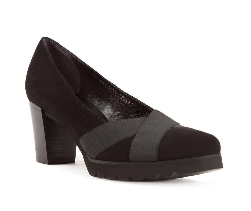 Обувь женскаяЖенские туфли-лодочки выполненны по технологии hand made из лучшей итальянской кожи. Подошва сделана  из синтетического материала.  Современный вариант классики, который придаст любому стилю неповторимый характер.           кожа натуральная          кожа натуральная          материал синтетический<br><br>секс: женщина<br>Цвет: черный<br>Размер EU: 35<br>материал:: Натуральная кожа<br>примерная высота каблука (см):: 6