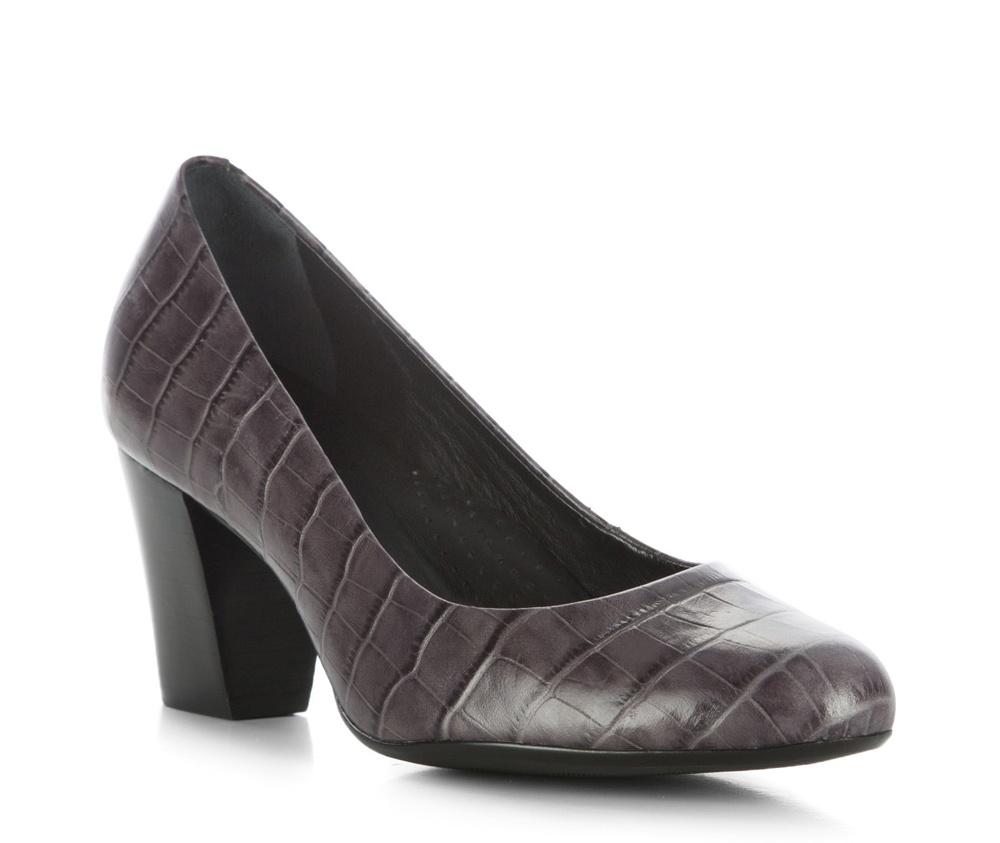 Обувь женскаяЖенские туфли-лодочки выполненны по технологии hand made из лучшей итальянской кожи. Подошва сделана  из синтетического материала. Модель на устойчивом каблуке с мягкой  профилированной стелькой гарантируют высокий комфорт.         кожа натуральная          кожа натуральная          материал синтетический<br><br>секс: женщина<br>Цвет: серый<br>Размер EU: 35<br>материал:: Натуральная кожа<br>примерная высота каблука (см):: 7