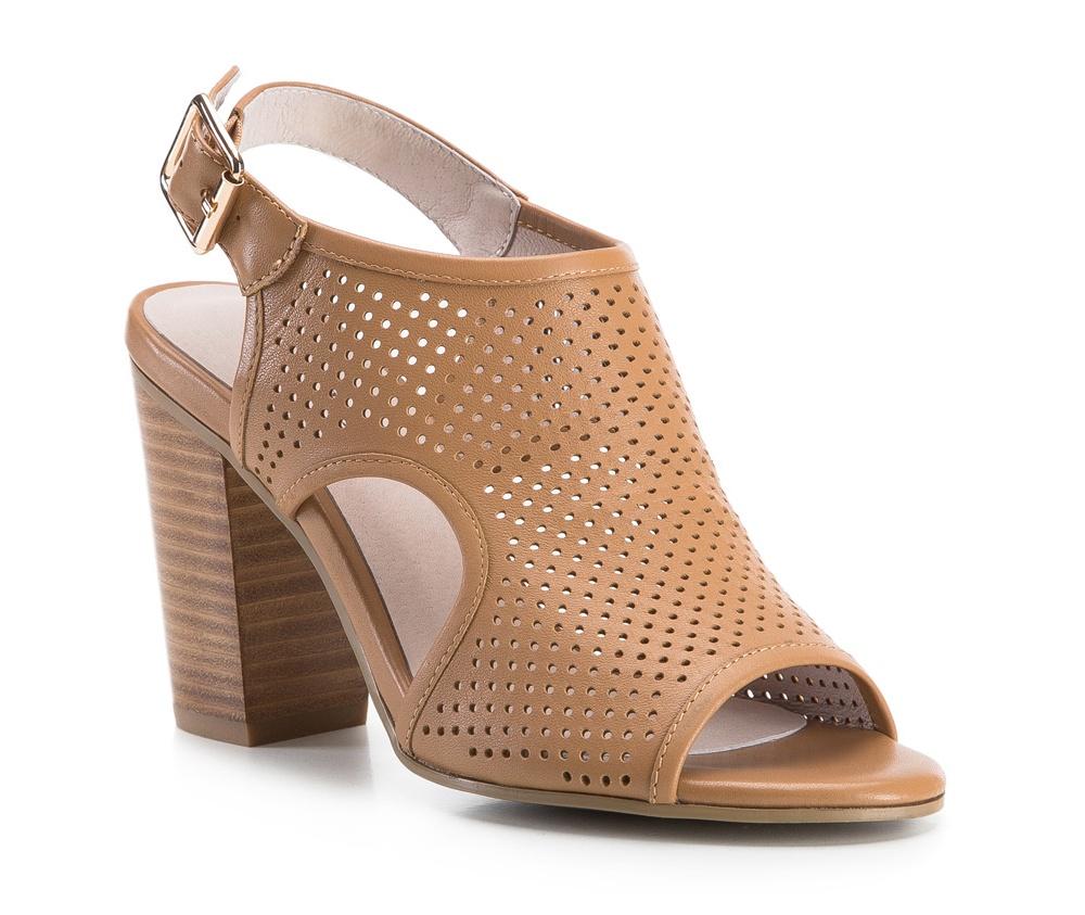 Обувь женскаяЖенские босоножки, выполнены по технологии Hand Made из натуральной итальянской кожи наивысшего качества. Подошва сделана из качественного синтетического материала. Модель сочетает элегантный стиль и современные тенденции. Идеальный выбор для модниц.<br><br>секс: женщина<br>Цвет: коричневый<br>Размер EU: 41<br>материал:: Натуральная кожа<br>примерная высота каблука (см):: 10