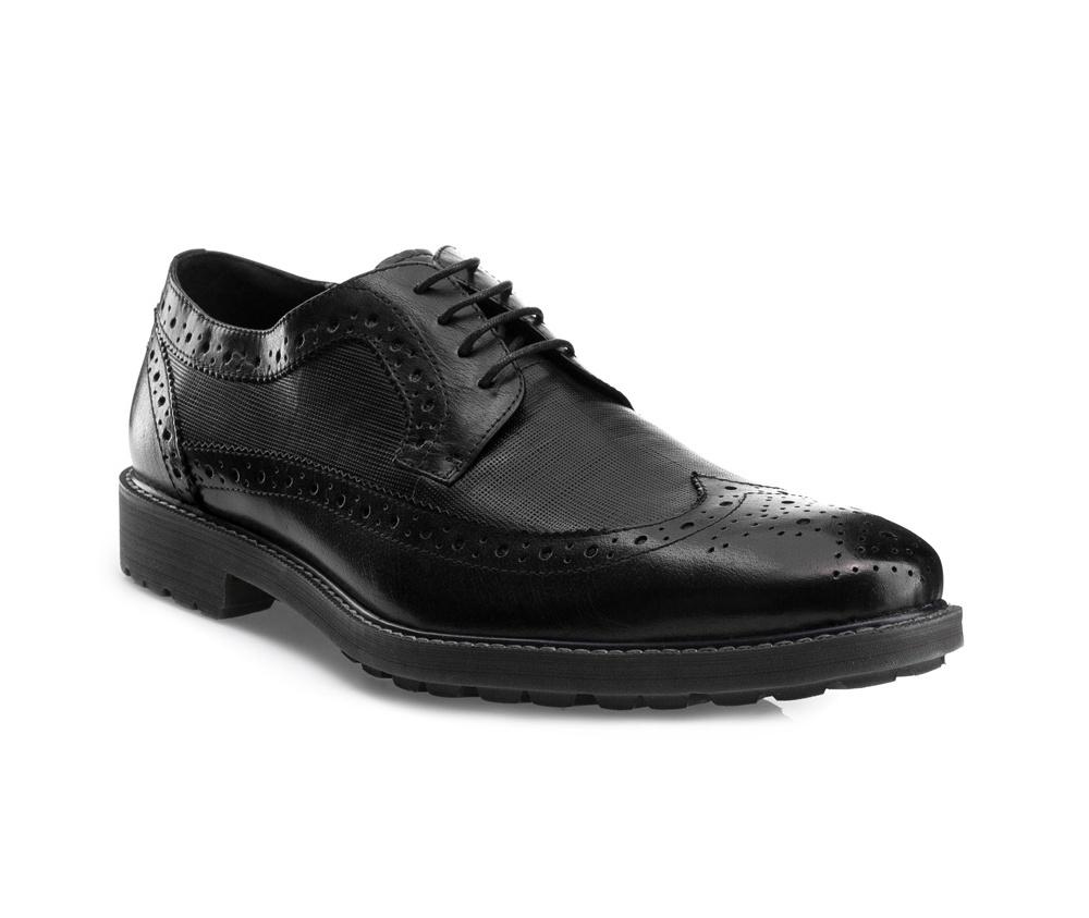 Обувь мужская Wittchen 85-M-811-1, черныйМужские ботинки выполнены по технологии \\\hand made\\\ из лучшей итальянской кожи. Подошва полностью сделана из качественного синтетического материала.<br><br>секс: мужчина<br>Цвет: черный<br>Размер EU: 43<br>материал:: Натуральная кожа<br>примерная высота каблука (см):: 3