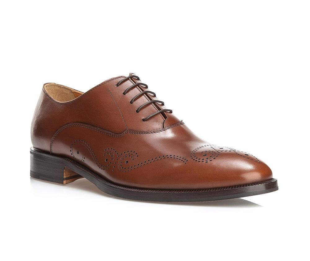 Обувь мужская Wittchen BM-B-583-5, светло-коричневыйТуфли мужские типа Grafton. Изготовленные по технологии \\\Hand Made\\\ и выполнены полностью из натуральной итальянской кожи наивысшего качества. Подошва  сделана из качественного синтетического материала.  Отличительной чертой этой линии от других моделей, является серебряный значок с логотипом WITTCHEN, расположенный на подошве. Такие туфли подчеркнут современный и модный офисный стиль.<br><br>секс: мужчина<br>Цвет: коричневый<br>Размер EU: 42