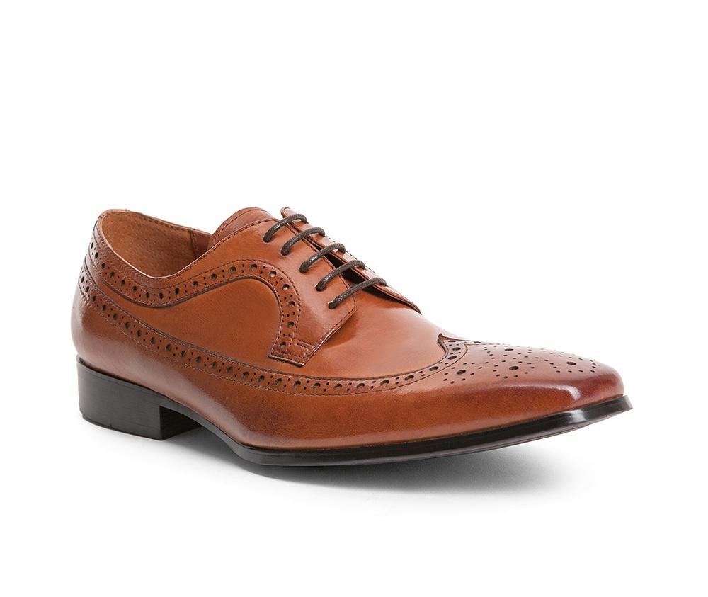 Обувь мужскаяТуфли мужские, выполнены по технологии Hand Made из натуральной итальянской кожи наивысшего качества.  Подошва сделана из качественного синтетического материала. Модель с роскошной отделкой с легкостью впишется в официальный образ каждого мужчины. натуральная кожа  натуральная кожа синтетический материал<br><br>секс: мужчина<br>Цвет: коричневый<br>Размер EU: 45<br>материал:: Натуральная кожа<br>примерная высота каблука (см):: 3