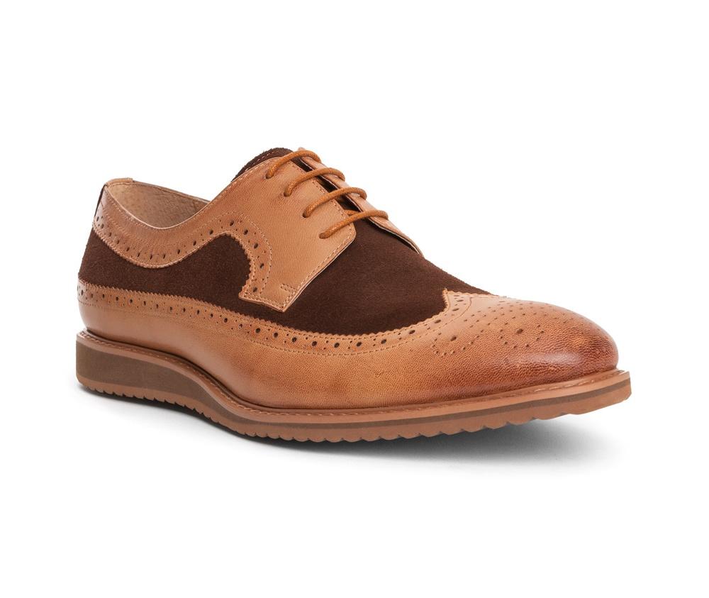 Обувь мужскаяТуфли мужские, выполнены по технологии Hand Made из натуральной итальянской кожи наивысшего качества.  Подошва сделана из качественного синтетического материала. Изысканная  фактура делает модель  идеальным дополнением современного стиля. натуральная кожа  натуральная кожа синтетический материал<br><br>секс: мужчина<br>Цвет: коричневый<br>Размер EU: 39<br>материал:: Натуральная кожа