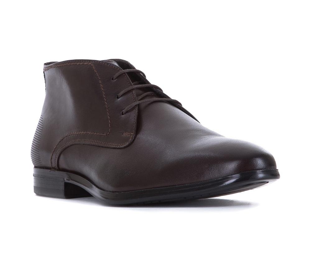 Обувь мужскаяТуфли мужские типа Дерби. Изготовленные по технологии Hand Made выполнены полностью из натуральной итальянской кожи наивысшего качества. Подошва полностью сделана из качественного синтетического материала. Эта модель идеально подходит для тех кому нравится классика и функциональность.<br><br>секс: мужчина<br>Цвет: коричневый<br>Размер EU: 44<br>материал:: Натуральная кожа<br>примерная высота каблука (см):: 2,5