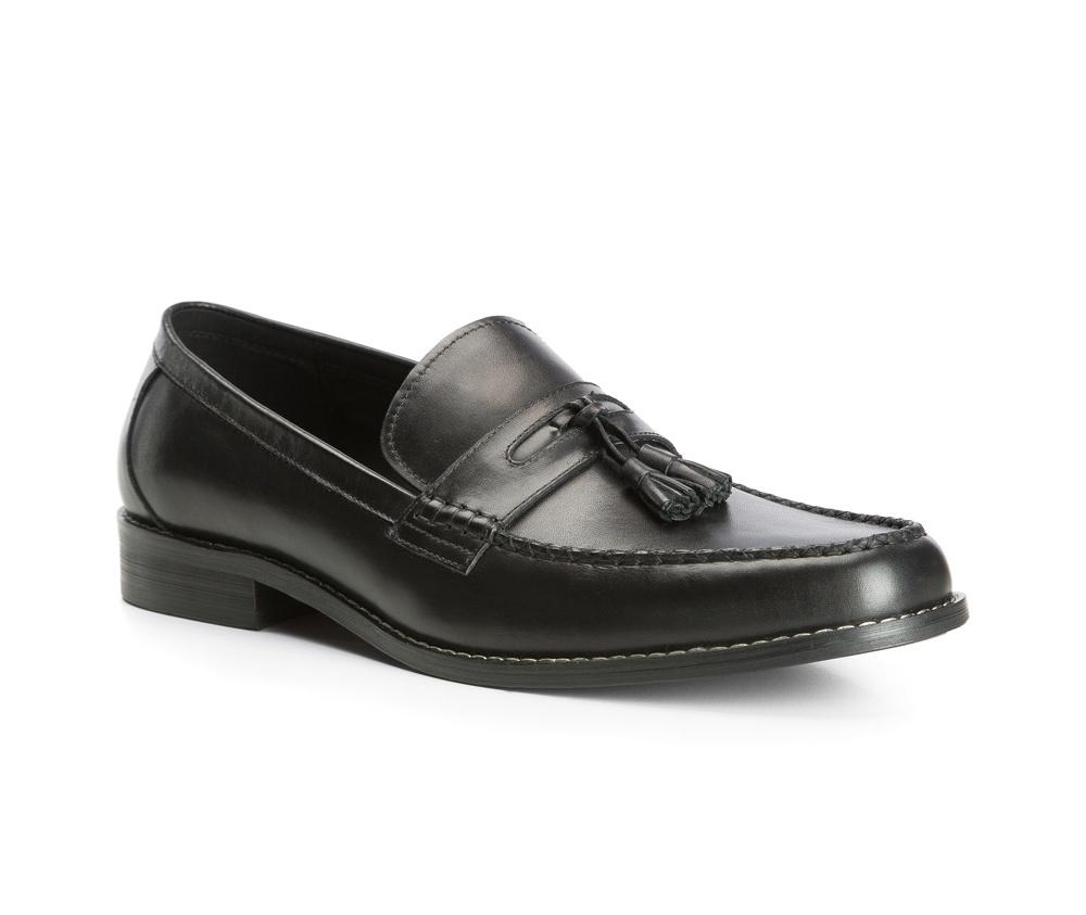 Обувь мужскаяТуфли мужские типа  Мокасины. Изготовленные по технологии Hand Made и выполнены полностью из натуральной итальянской кожи наивысшего качества. Подошва  сделана из качественного синтетического материала. Стильный вид этой обуви придется по вкусу каждому.<br><br>секс: мужчина<br>Цвет: черный<br>Размер EU: 43<br>материал:: Натуральная кожа<br>примерная высота каблука (см):: 3