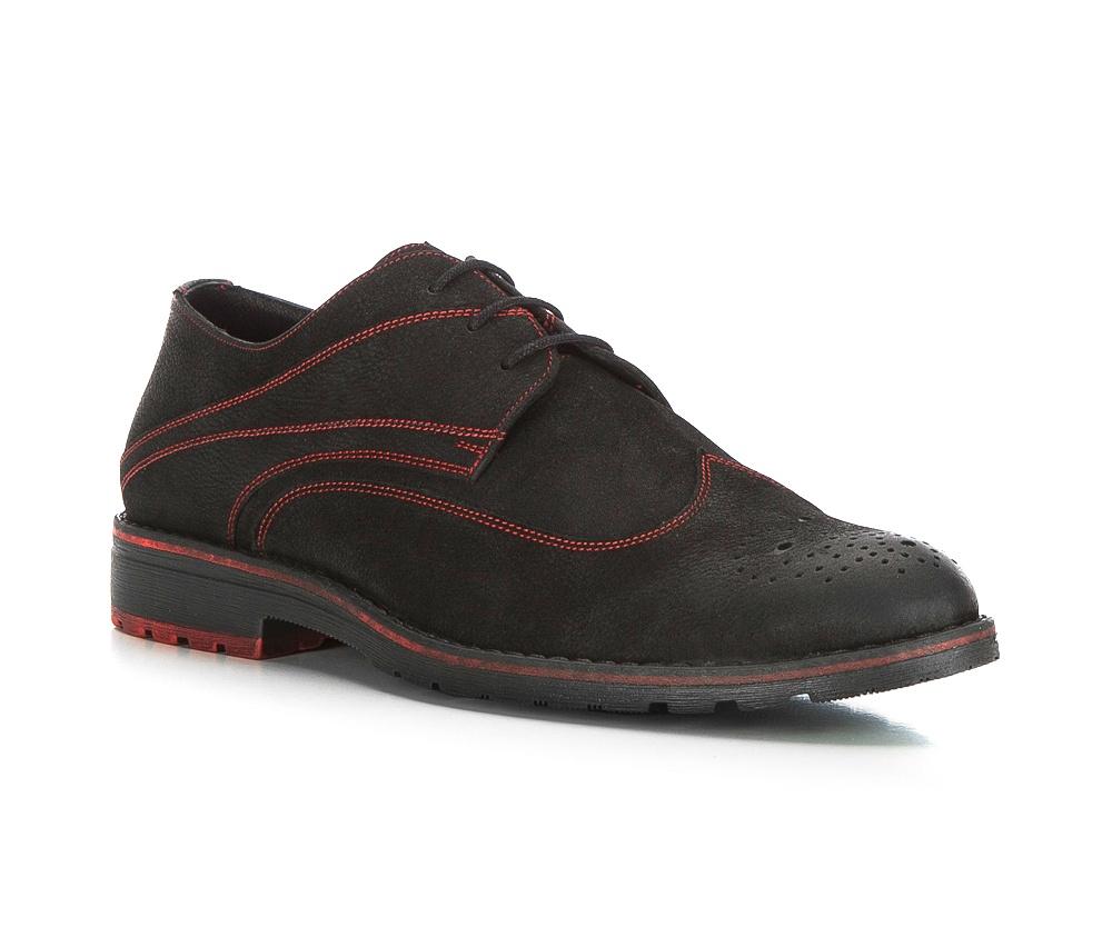 Обувь мужскаяТуфли мужские типа Дерби. Изготовленные по технологии Hand Made выполнены полностью из натуральной итальянской кожи наивысшего качества. Подошва полностью сделана из качественного синтетического материала. Эта модель идеально подходит для тех кому нравится классика и функциональность.<br><br>секс: мужчина<br>Цвет: черный<br>Размер EU: 42<br>материал:: Натуральная кожа<br>примерная высота каблука (см):: 3,5