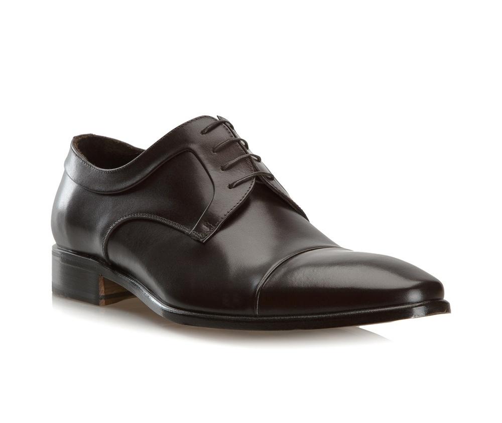 Обувь мужская Wittchen BM-B-573-4, темно-коричневыйТуфли мужские типа Shannon. Изготовленные по технологии \Hand Made\ выполнены полностью из натуральной итальянской кожи наивысшего качества. Подошва полностью сделана из качественного синтетического материала. Отличительной чертой этой линии от других моделей, является серебряный значок с логотипом WITTCHEN, расположенный на подошве. Эта модель идеально подойдет для тех, кому по нраву классика.<br><br>секс: мужчина<br>Цвет: коричневый<br>Размер EU: 44.5<br>материал:: Натуральная кожа<br>примерная высота каблука (см):: 3