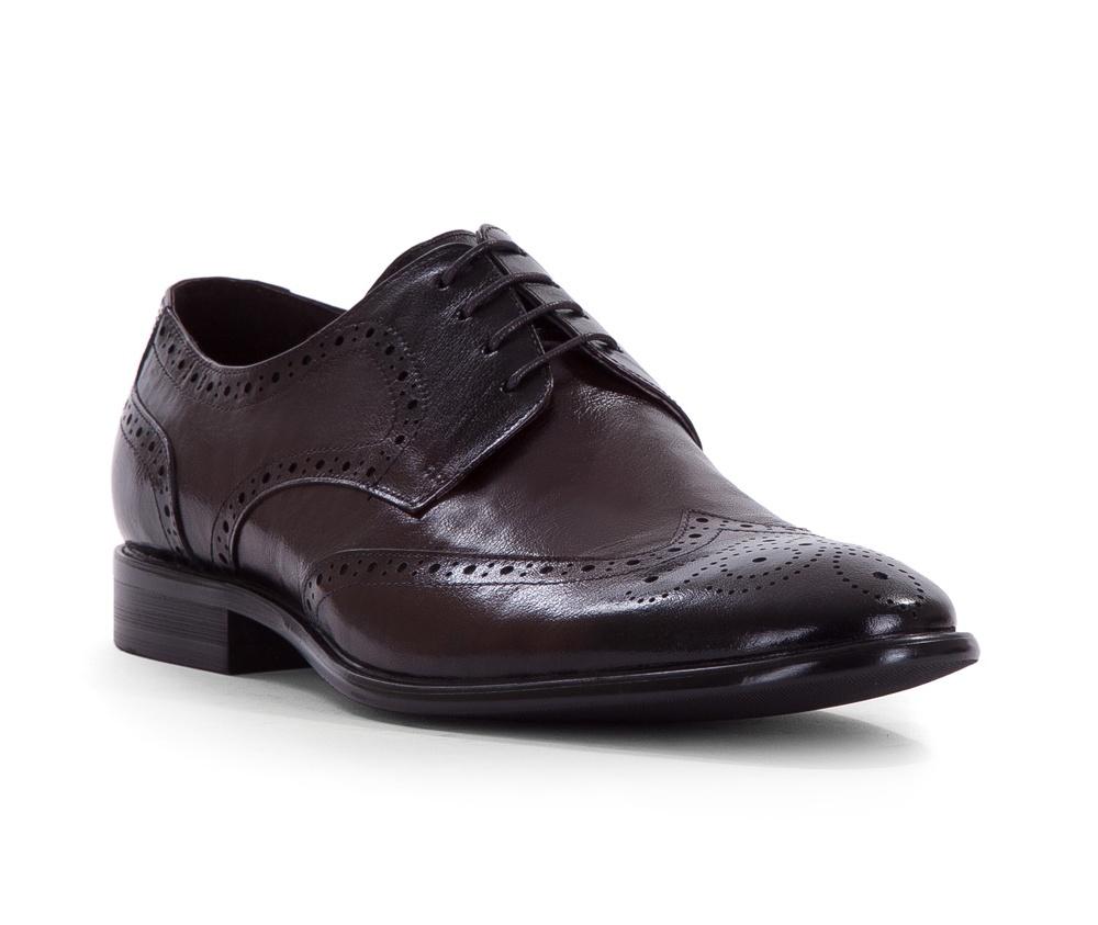 Обувь мужскаяТуфли мужские типа  Brogues. Изготовленные по технологии Hand Made и выполнены полностью из натуральной итальянской кожи наивысшего качества. Подошва  сделана из качественного синтетического материала. Стильный вид этой обуви придется по вкусу каждому. Модель идеально подходит к классической одежде.<br><br>секс: мужчина<br>Цвет: коричневый<br>Размер EU: 45<br>материал:: Натуральная кожа