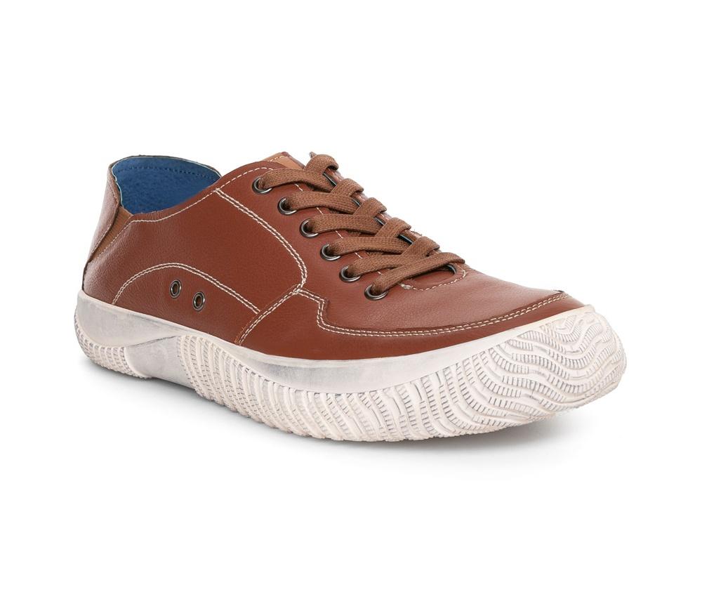 Обувь мужскаяТуфли мужские выполнены по технологии Hand Made из натуральной итальянской кожи наивысшего качества.  Подошва сделана из качественного синтетического материала. Спортивная модель идеально сочетается с городским стилем. натуральная кожа  натуральная кожа синтетический материал<br><br>секс: мужчина<br>Цвет: коричневый<br>Размер EU: 41<br>материал:: Натуральная кожа