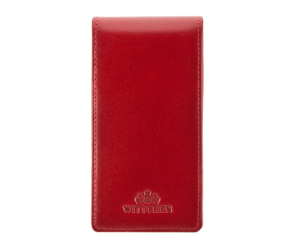 Кредитница Wittchen 21-2-170-3, красныйКредитница из коллекции Italy. Сделана из мягкой телячьей кожи. Логотип- герб WITTCHEN тисненый на коже. Кредитница - прекрасная альтернатива кошельку, идеальна для людей ценящих комфорт и эргономичный дизайн. Имеют подарочную упаковку с логотипом WITTCHEN. 2 кармана, 10 отделений для кредитных карт.<br><br>секс: унисекс<br>материал:: натуральная кожа<br>высота (см):: 13.5<br>ширина (см):: 6.5