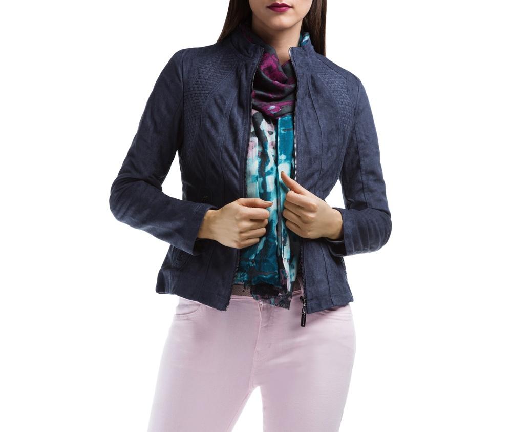 Куртка ЖенскаяКуртка изготовлена ??из высококачественных материалов, которые обеспечивают комфорт. Модель на застегивается с помощью молнии, со стоячим воротником. Имеет два внешних кармана на молнии. Интересные швы на плечах и локтях добавляют неповторимый акцент.<br><br>секс: женщина<br>Размер INT: S
