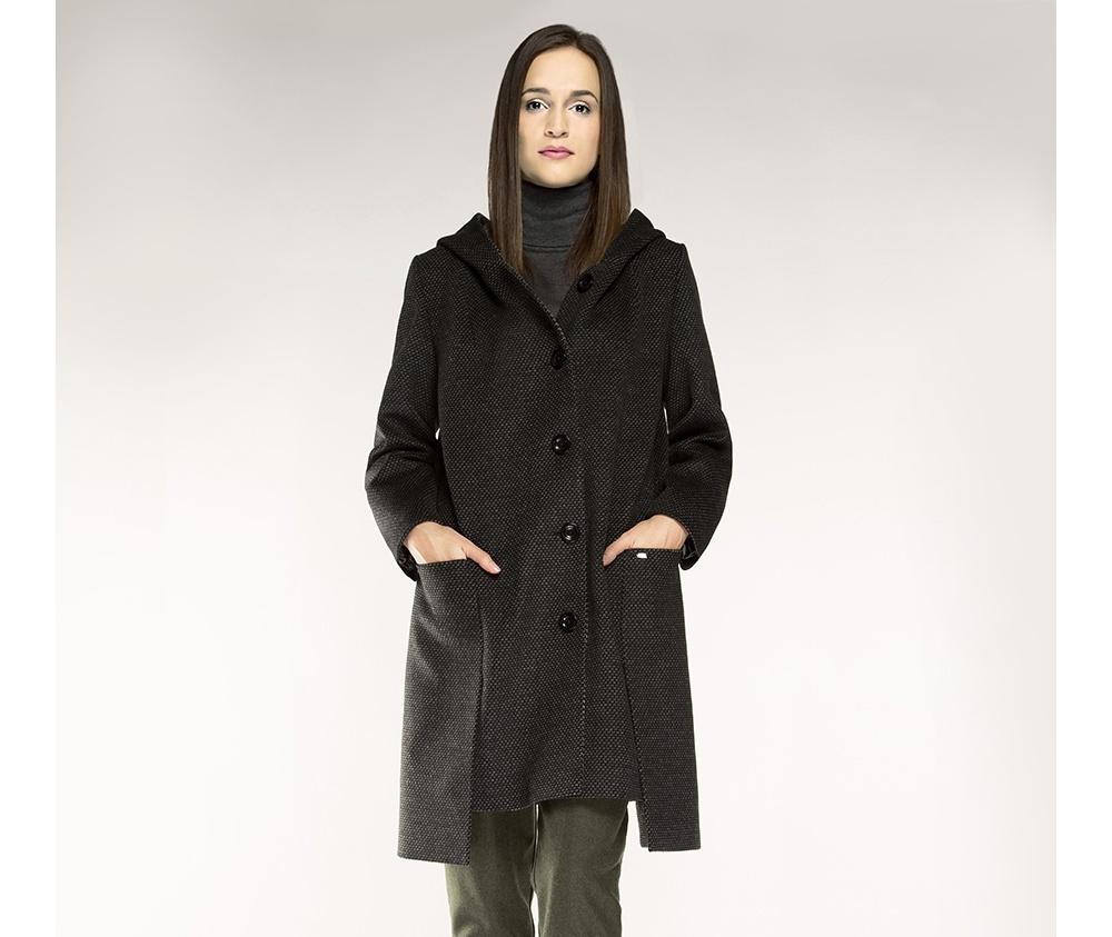 Пальто женскоеПальто женское<br><br>секс: женщина<br>Цвет: серый<br>Размер INT: XL<br>материал:: Полиэстер<br>подкладка:: полиэстр<br>примерная общая длина (см):: 120