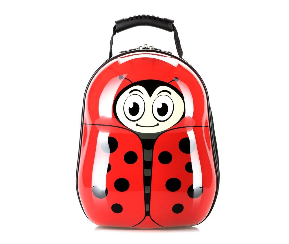 Рюкзак детскийРюкзак из коллекции Travel Kids, изготовлен из очень прочного полиэстера, который используется в производстве пластиковых ABS чемоданов. Детский рисунок на передней стороне сделает рюкзак отличным дополнением для каждого ребенка. Особенности модели:  основное отделение на молнии.     Дополнительно:    удобная ручка;  лямки регулируемой длины.<br><br>секс: None<br>материал:: Поликарбонат<br>подкладка:: полиэстер<br>высота (см):: 34<br>ширина (см):: 28<br>глубина (см):: 17<br>объем (л):: 13<br>вес (кг):: 0,6