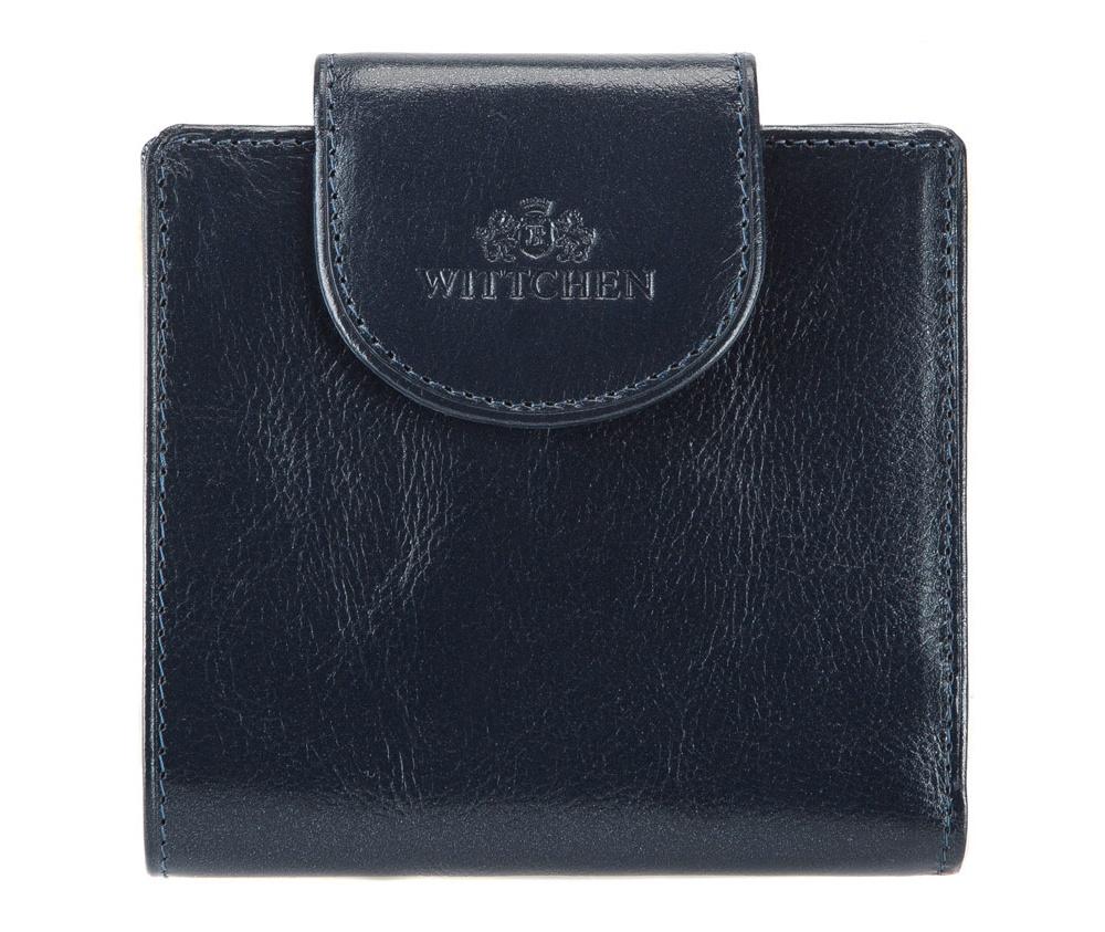 КошелёкМаленький кошелек из коллекции Italy, сделан из мягкой телячьей кожи. Логотип- герб WITTCHEN тисненый на коже. Прилагается фирменная упаковка с логотипом WITTCHEN. Идеален для людей ценящих удобство в использовании и оригинальный дизайн.   Особенности модели:   отделение для мелочи; 2 отделения для купюр; 3 слота для кредитных карт; 6 отделений, 2 из них прозрачные.<br><br>секс: женщина<br>материал:: натуральная кожа<br>высота (см):: 9.5<br>ширина (см):: 10.5