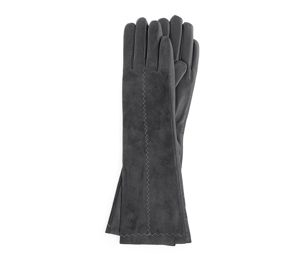 Перчатки женскиеПерчатки женские<br><br>секс: женщина<br>Цвет: серый<br>Размер INT: L<br>материал:: Натуральная кожа