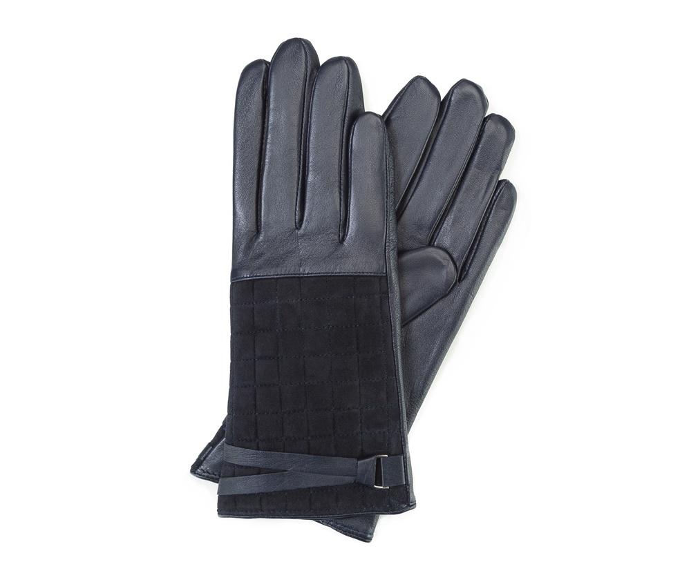 Перчатки женские кожаныеПерчатки женские кожаные<br><br>секс: женщина<br>Цвет: синий<br>Размер INT: S<br>материал:: Натуральная кожа