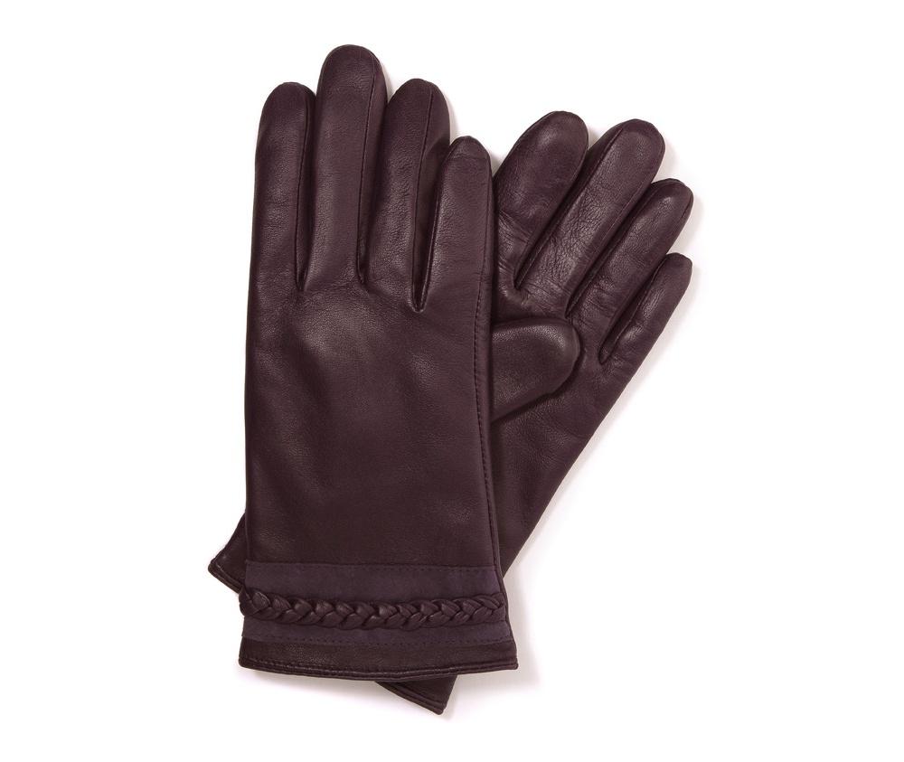 Перчатки женские кожаные Wittchen 39-6-614-P, сливовыйПерчатки женские кожаные<br><br>секс: женщина<br>Цвет: фиолетовый<br>Размер INT: S