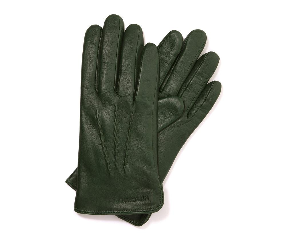Перчатки женские кожаныеПерчатки женские кожаные<br><br>секс: женщина<br>Цвет: зеленый<br>Размер INT: XL