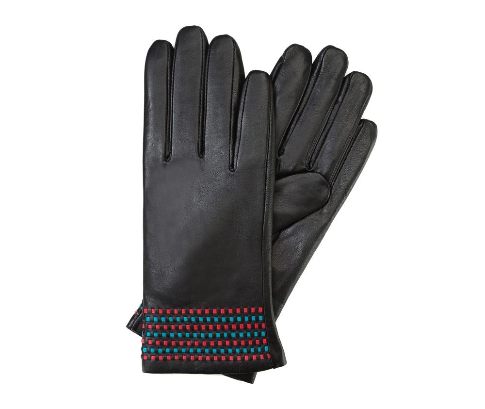 Перчатки женские кожаные Wittchen 39-6-527-1, черныйПерчатки женские кожаные<br><br>секс: женщина<br>Цвет: черный<br>Размер INT: L<br>материал:: Натуральная кожа