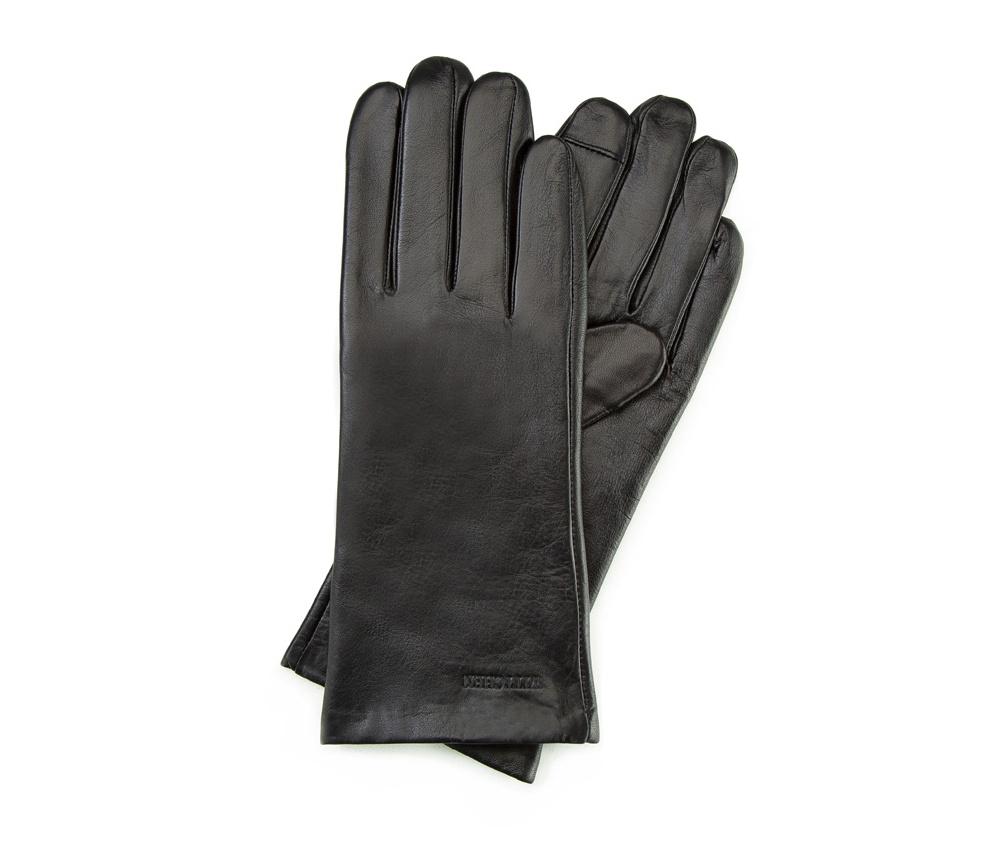 Перчатки женские кожаные Wittchen 39-6L-901-1, черныйПерчатки женские кожаные<br><br>секс: женщина<br>Цвет: черный<br>Размер INT: XL<br>материал:: Натуральная кожа