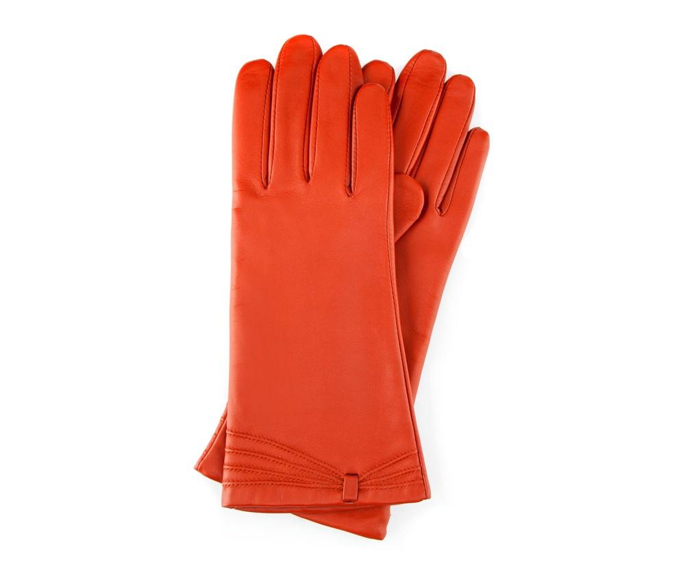 Перчатки женские кожаныеПерчатки женские кожаные<br><br>секс: женщина<br>Цвет: оранжевый<br>Размер INT: M<br>вид:: утепленные<br>материал:: Натуральная кожа<br>подкладка:: polar