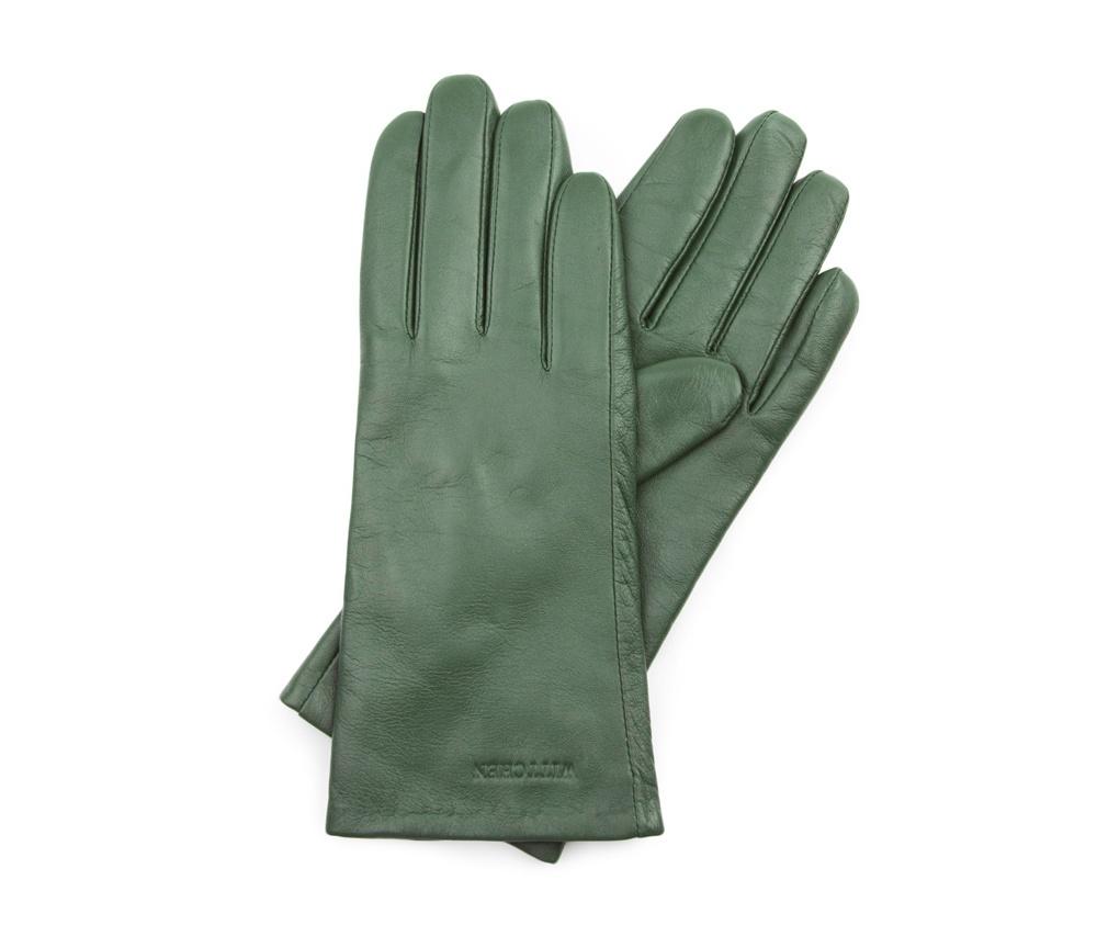 Перчатки женские Wittchen 39-6L-201-Z, зеленыйПерчатки женские Wittchen 39-6L-201-Z, зеленый<br><br>секс: женщина<br>Цвет: зеленый<br>Размер INT: L<br>материал:: Натуральная кожа