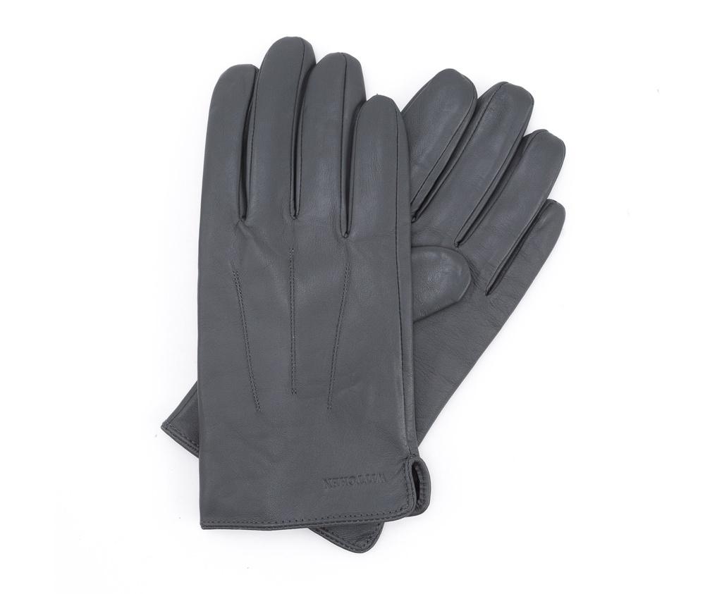 Перчатки мужские кожаныеПерчатки мужские кожаные<br><br>секс: мужчина<br>Цвет: серый<br>Размер INT: V<br>материал:: Натуральная кожа