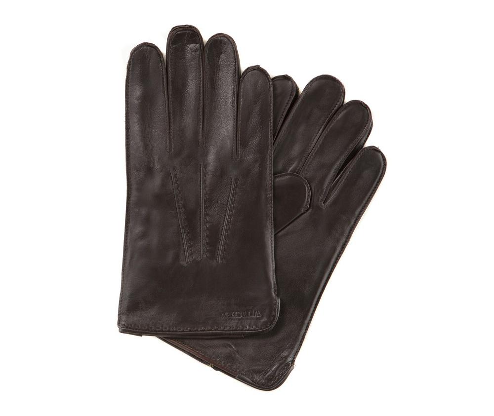 Перчатки мужские кожаные Wittchen 39-6-348-B, темно-коричневыйПерчатки мужские кожаные<br><br>секс: мужчина<br>Цвет: коричневый<br>Размер INT: L