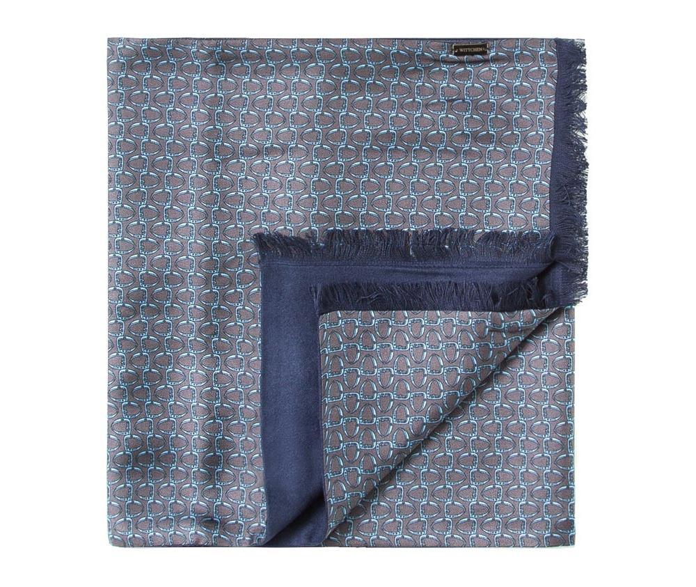 Шарф мужскойДвусторонний мужской шарф  из шелка с знаком наивысшего качества King Silk. Слегка глянцевый сторона с узором подойдет для менее обязывающего стиля, а однотонная сторона идеально сочетается с элегантным образом.<br><br>секс: мужчина<br>Цвет: серый<br>материал:: Шелк<br>высота (см):: 164<br>ширина (см):: 31