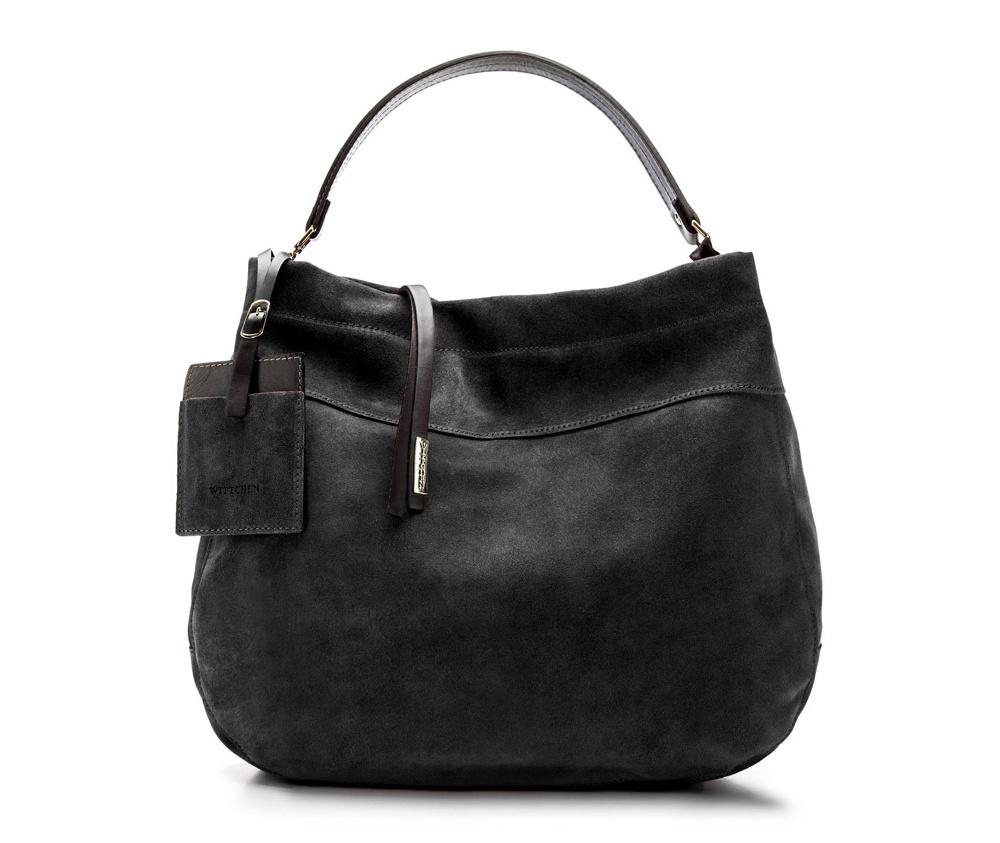 Сумка кожанаяСумка из коллекции Elegance. Основное отделение на молнии. Внутри карман на молнии и открытый карман для мелких предметов. Дополнительно съемная ручка и съемный, регулируемый плечевой ремень.<br><br>секс: женщина<br>Цвет: черный<br>материал:: Натуральная кожа<br>тип:: в руке<br>высота (см):: 34<br>ширина (см):: 39<br>глубина (см):: 10,5<br>вмещает формат А4: да<br>вес (кг):: 0,5