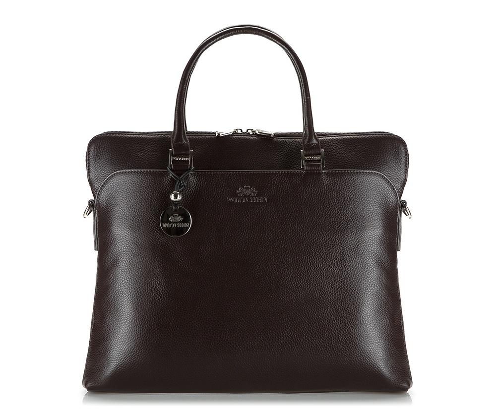 Женская сумкаЖенская сумка из коллекции Comfort  Основное отделение на молнии. Внутри сумки карман на молнии, держатель для мобильного телефона, два крепления для ручек и два слота для кредитных карт. Снаружи 2 отделения на магните. Дополнительно съемный плечевой ремень с регулируемой длиной.<br><br>секс: женщина<br>Цвет: коричневый<br>материал:: натуральная кожа<br>высота (см):: 30<br>ширина (см):: 38<br>глубина (см):: 6<br>общая высота (см):: 44