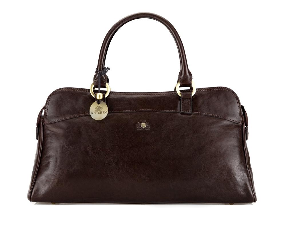 Женская сумка1 отделение на молнии, внутри 2 кармана (один на молнии) и отделение для мобильного телефона, 2 крепления для ручек<br><br>секс: женщина<br>Цвет: коричневый<br>материал:: натуральная кожа<br>высота (см):: 22<br>ширина (см):: 40<br>глубина (см):: 13
