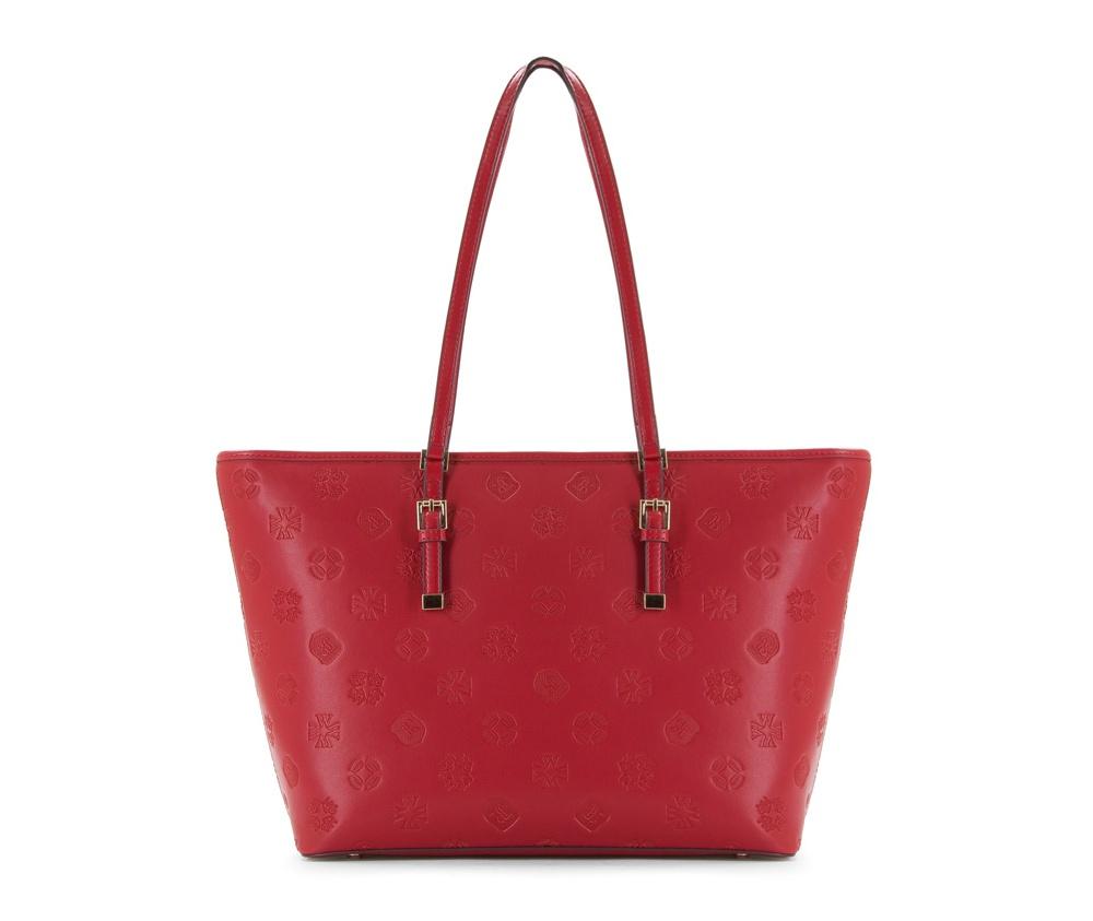 Женская сумкаЖенская сумка из коллекции Elegance&#13;<br>Основной отдел застегивается на молнию, разделен карманом на молнии.Внутридвакармана на молнии, открытый карман для мелких предметов и отделение для мобильного телефона. С тыльной стороны карман на молнии. Дно сумки защищено металлическими ножками.<br><br>секс: женщина<br>вмещает формат А4: поместит формат А4<br>материал:: Натуральная кожа<br>высота (см):: 28<br>ширина (см):: 34 - 46<br>глубина (см):: 13.5<br>общая высота (см):: 56<br>длина ручки/ек (см):: 63
