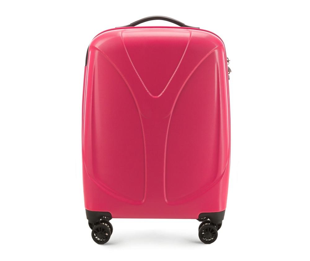 Чемодан на колёсиках 20\\Маленький чемодан размеров из коллекции  V-Line, сделан из прочного      материала - поликарбонат. Оснащен четырьмя колесами,     телескопической  ручкой, эластичной резиновой ручкой для   ношения в   руке и замоком TSA.&#13;<br>&#13;<br>Внутри : &#13;<br>- отделение с эластичными  ремнями, предохраняющими одежду от перемещения;  &#13;<br>- отделение на молнии;   &#13;<br>- карман на молнии.<br><br>секс: женщина<br>подкладка:: полиэстр<br>высота (см):: 56<br>ширина (см):: 38<br>глубина (см):: 20,5<br>размер:: ma?a<br>объем (л):: 34<br>вес (кг):: 2,4