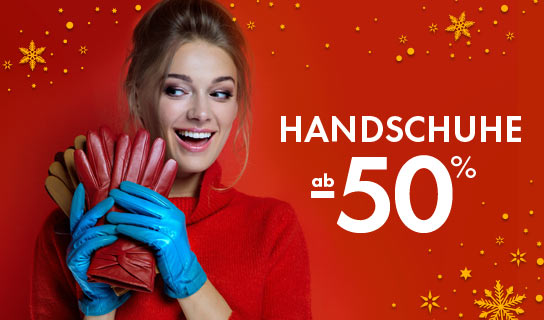 HANDSCHUHE AB -50%