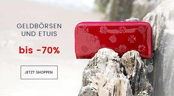 GELDBÖRSEN UND ETUIS BIS -70%
