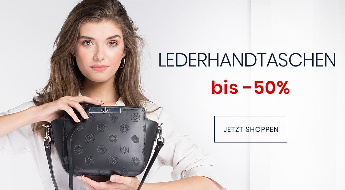 LEDERHANDTASCHEN BIS -50%