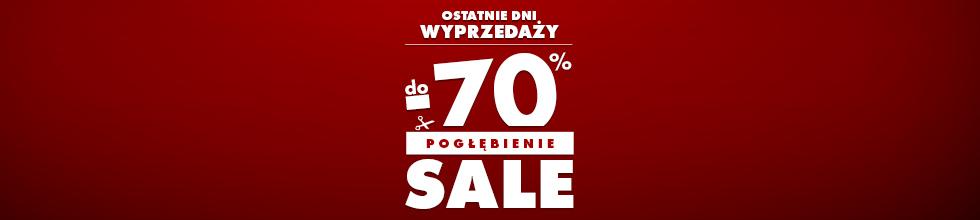 Dodatkowe rabaty - Sale do -70%
