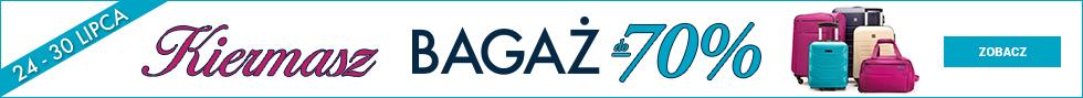 Kiermasz - Bagaż do -70%