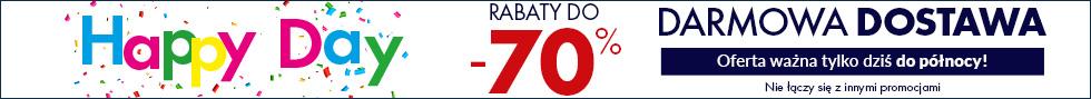 Rabaty do -70% oraz darmowa dostawa