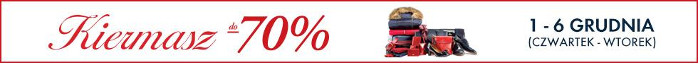 Kiermasz do -70%