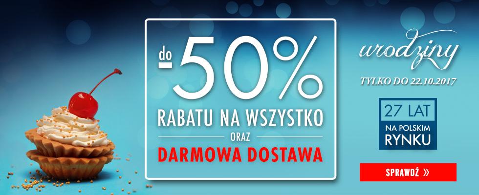 Urodziny do -50%