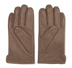 Men's gloves, beige - silver, 39-6-308-X-M, Photo 1