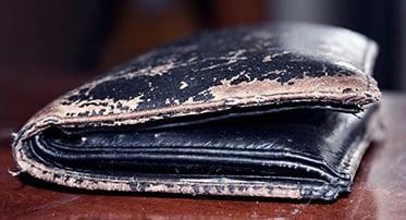 Stary portfel dziadka