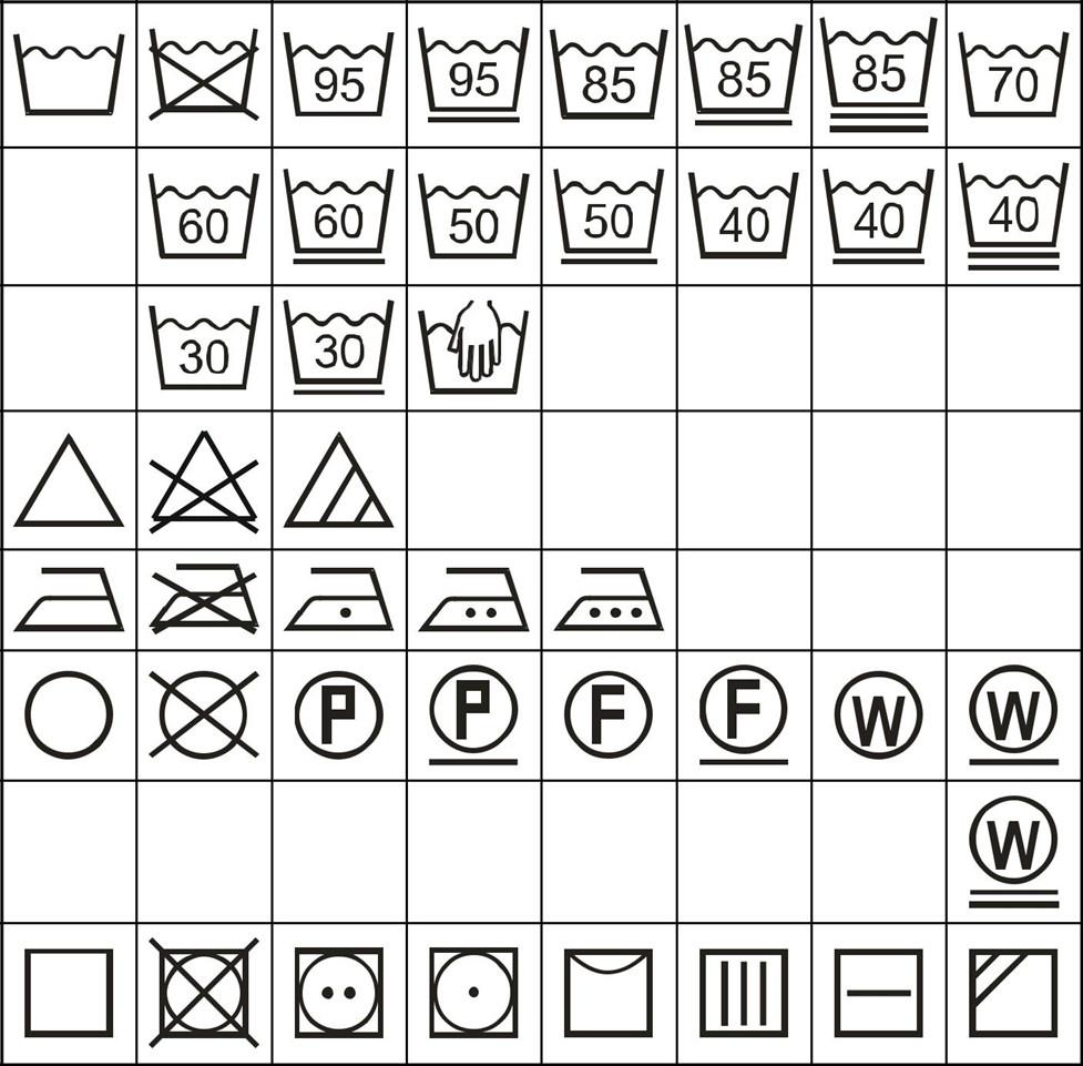 icons list