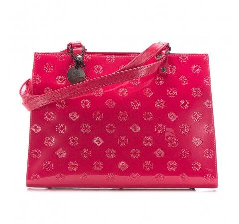 Różowa torebka shopper